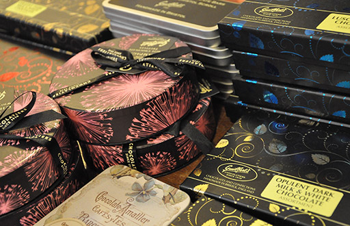 Local, organic and fair trade chocolates - Guilberts and Oooh! Chocolata Southville Deli